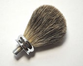 Premium Badger Shaving Brush Kit for Woodworkers, and Woodturners FREE SHIPPING!