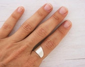 Listing for Maureen!!!! Simple Silver Ring, Plain Silver Ring, Unisex Silver Ring, Silver Ring for Men, Open Silver Ring