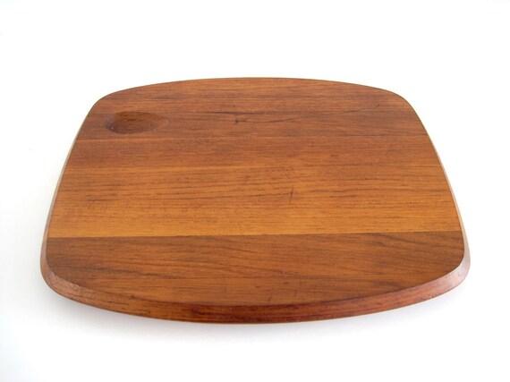 Teak Wood Cutting Board Dansk Torun Denmark Danish Modern