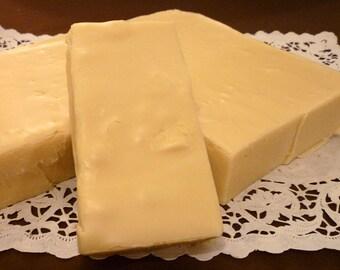 VanillaFudge, 1 1/2 pounds, Old-fashioned Cream & Butter Recipe, Plain Vanilla