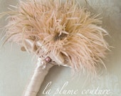 Feather Plume Bridal Bouquets