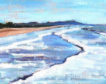 San Diego Pacific Beach - Landscape Painting