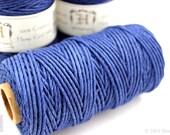 2mm Blue Hemp Cord, 48lb Hemp Twine, Macrame Supplies