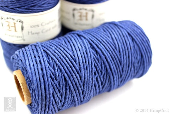 macrame supplies 2mm blue hemp cord 48lb hemp twine macrame supplies 7479