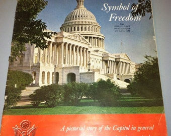 1963 The Capitol Symbol of Freedom guide