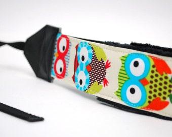 Owl Camera Wrist Strap - DSLR Camera Straps - Nikon Strap - Camera Hand Strap - Camera Gifts - Owl Gifts - Photographer Gift - Hoot!