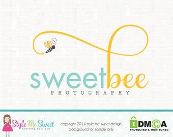 Premade Bee Logo Photography Logo Graphic Design Photographers Logo Watermark Logo Photography Branding Premade Logo Design Naure Logo