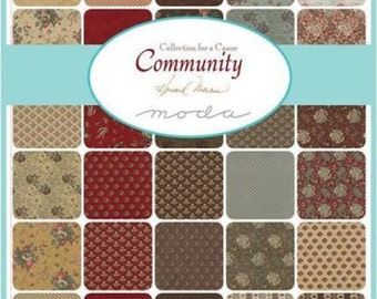 Moda Collection for a Cause Community Charm Pack by Howard Marcus 46190PP New Fabric Just Arrived