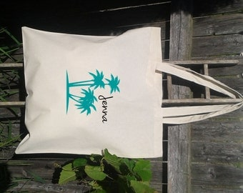 Bridesmaid Gift Bags - Welcome Bags for Wedding -Palm Tree - Wedding Party