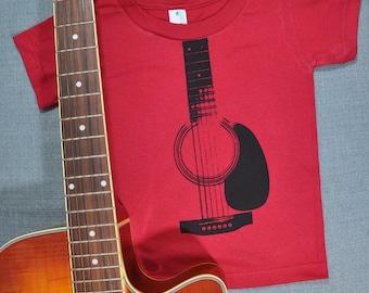 Acoustic Guitar Organic Cotton Shirt (6T)