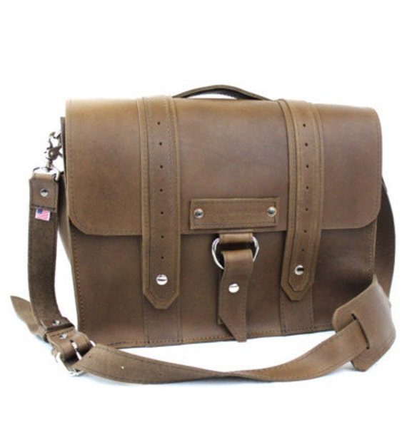 "15"" Brown Sierra Voyager Laptop Bag - 15-V-BR-LAP"
