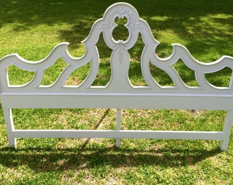 Vintage Gray Queen Headboard (Matching Dresser & Mirror Avail.)