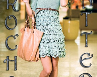 For Advance Level Only, Summer  Ruffles Dress Crochet Only  in PDF files