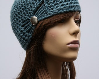 Gathered Cloche Hat in Multiple Colors