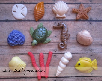 EDIBLE (Fondant Toppers) - Under the Sea Collection