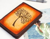 Kindle Leather Cover - Tree of Life - Customizable - Free Personalization