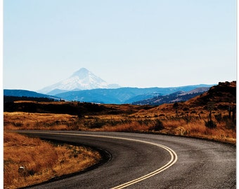 Travel photography, mount hood, the dalles, oregon,fine art print