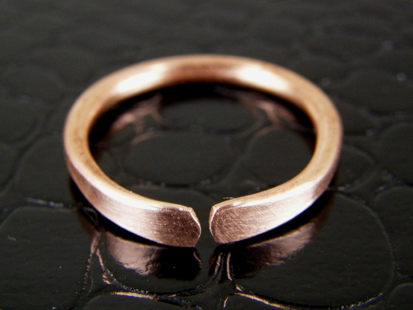 Womens Copper Wedding Rings Blucome Copper Bridal Rings For Women ...