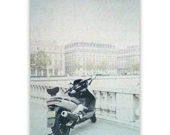 Paris Photography, River Seine, Paris decor, Paris Bridges Paris Wall Art, Paris bridge photo, Seine, aqua decor - Fine Art Photograph