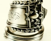 Spoon Ring Roman Column & Vines Sterling Silver, Handcrafted in Your Size (5031) - Spoonier