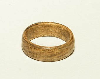 Oak bentwood ring