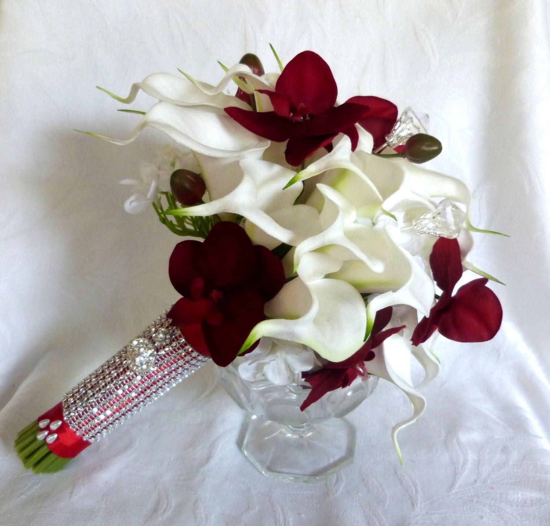 lis calla blanc rouge orchid e mariage par. Black Bedroom Furniture Sets. Home Design Ideas