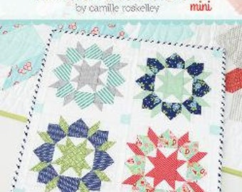 Swoon MINI Quilt Pattern by Camille Roskelley of Thimble Blossoms