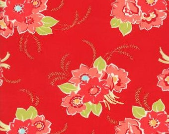 Miss Kate Blossom Red Main by Bonnie & Camille for Moda