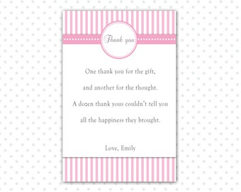 thank you card note birthday party cards baby shower cards birthday