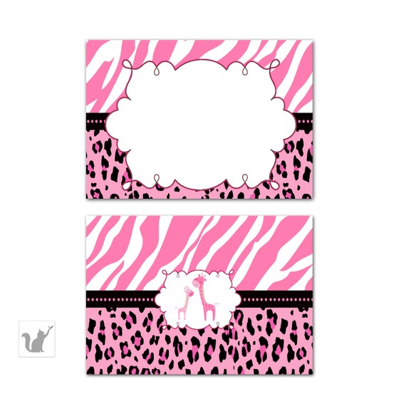 Pink Zebra Baby Shower Invitations with awesome invitations template