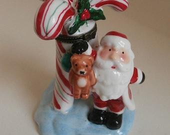 Santa Trinket Box