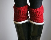 Boot Warmers Leg Warmers:Cranberry/THE POLAR WARMERS - grizzlie