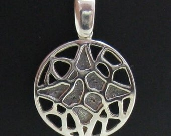 PE000727 Stylish  Sterling silver pendant   solid 925