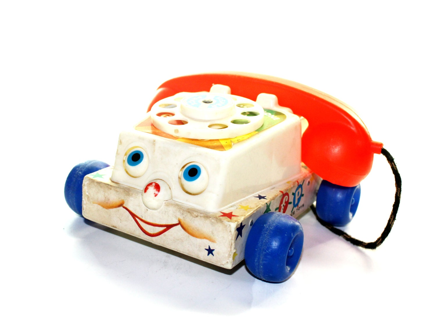 Fisher Price Toys : Fisher price chatter telephone vintage toy