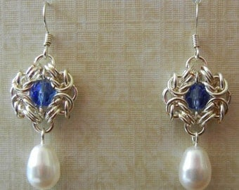 Romanov Chainmaille Earrings