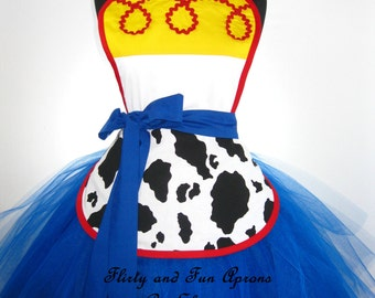 Toy Story Jessie Inspired Costume Tutu Apron