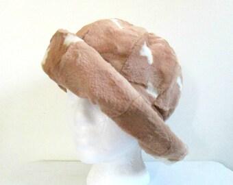 Lilly Dache Fur Winter Hat // Vintage 1960s Designer Dachettes