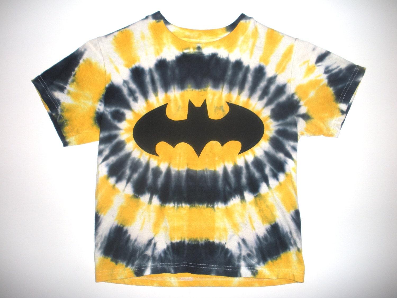Toddler Tie Dye Batman Shirt