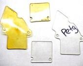 Bram Stoker's Dracula Pinball Clear Replacement Plastics 2 Piece set