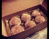 Rum Balls - Vegan 1/2 Dozen, vegan rum balls