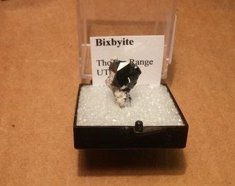 Beautiful Bixbyite rare mineral specimen