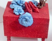 Decorative Box Inspired by the Wizard of OZ Shipping Included Ready to Ship