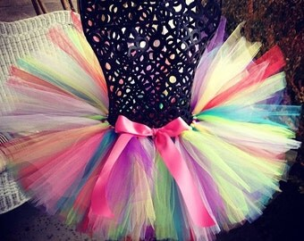 "Multi color tutu ""Candyland"" Tutu  Great for Birthdays, Photography Prop, and Dance"