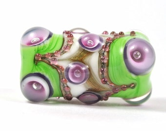Lampwork Focal Glass Bead