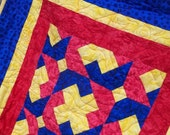 Primary Color Baby Quilt