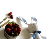 SEWING CRAFT KIT Stuffed rabbit Make your own rabbit diy tutorial Sewing tutorial stuffed animal
