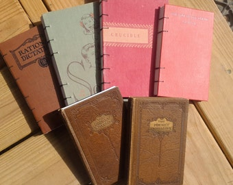 Your Hardcover Book Rebound Into a Journal or Sketchbook