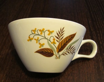 Set of 6 Vintage Tea Cups