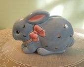 Vintage Napkin Holder: Otagiri Bunny Napkin Holder