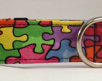 Dog Collar, Martingale Collar, Cat Collar - All Sizes - Jigsaw Puzzle